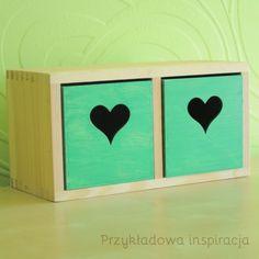 Pudełko hand-made na drobiazgi, organizacja przestrzeni, artykuły drewniane na pankotek.pl.