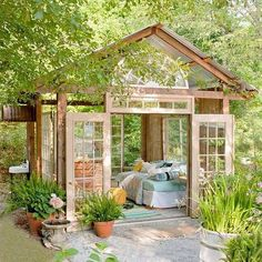 If you spend a lot of time working in your garden, you will need a comfortable place to pot those plants. And through many years of gardening you will also need a place to store your collection of plants, seeds, gardening tools, and supplies. With a garden shed, you don't have to go back and forth to the basement or garage. And a garden shed isn't just a place to store gardening tools and supplies! It can double as a workshop for crafting or construction work, since these activities are m...