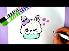 Cute picture drawings how to draw a cute bunny cupcake cute food drawings cute drawings pictures .