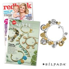 The editors at @redbookmag were completely charmed by our Perfect Composition Bracelet, which is featured in the May issue!