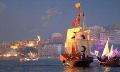 Fiestas Moros y Cristianos #Villajoyosa #CostaBlanca #Alicante #España #Spain