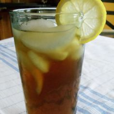 I love iced tea. I think I cut my teeth on iced tea. I drink it morning , noon and night.