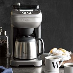Breville Grind Control Coffee Maker #williamssonoma