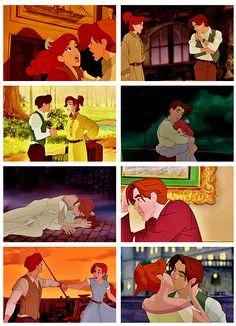 Anastasia and Dimitri...best couple, not Disney
