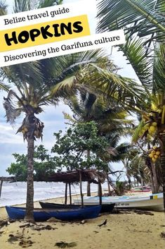 Discover Hopkins and the Garifuna culture in Belize central america destinations Hopkins - Heart of the Garifuna culture Europe Destinations, Honduras, Costa Rica, Belize City, South America Travel, North America, Belize Travel, Travel Guides, Travel Tips
