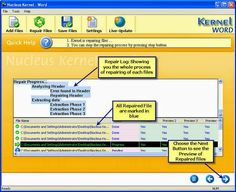 Resolve corruption issues in Word Master Document File