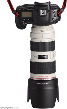 Canon EF 70-200mm f/2.8L IS II USM Lens On Camera