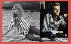 LA CARABA EN BICICLETA...: RAYAS Tops, Women, Fashion, Stripes, Bike, Illustrations, Moda, Fashion Styles, Fashion Illustrations