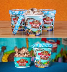 Justice Might Be Blind, But Ben & Jerry's Seeks Sweet Reform With Justice ReMix'd | Dieline