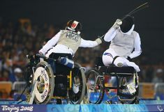 Wheelchair Fencing - Paralympic Sports