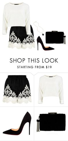 """""""Sem título #3047"""" by mprocedi ❤ liked on Polyvore featuring Christian Louboutin and Kenneth Cole"""