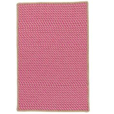 Beachcrest Home Russell Hand-Woven Pink Indoor/Outdoor Area Rug Rug Size: