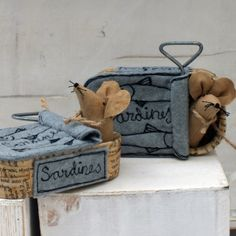 Sardine Tin Mouse House £22.00