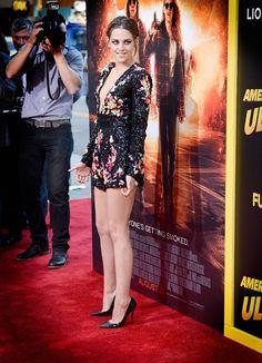Kristen Stewart @ American Ultra premiere. She looks great. Love seeing her happy. :)