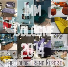 IMM Color Trend Report 2014 - Eclectic Trends
