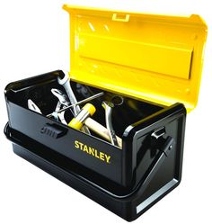 Stanley has come out with a couple of new metal tool boxes. Share:EmailGoogleTwitterFacebookPinterest