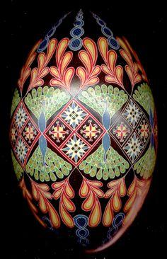 Pysanky: Ukrainian Decorated Eggs | SheWalksSoftly