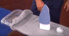 ...un trucco per facilitare la stiratura dei vestiti