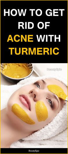 how to get rid of acne with turmeric