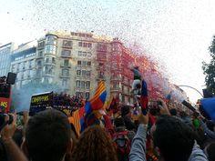 FC Barcelona - Campeones de la Liga 2012-13 - Rua de Campeones por Barcelona