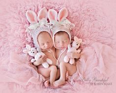 Classic Bunny Bonnet and Stuffie Set Crochet by MelodysMakings