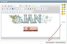 Tutorial Tuesday (Photoshop Elements) Create a Sizzlin' Signature.