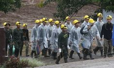 Update:Tuesday - a.MAE SAI, Thailand (AP) Thailand's navy SEALs say all 12 boys and their soccer coach have been rescued from a flooded cave in far northern Thailand, ending an ordeal that lasted more than two weeks.They say the four boys and coac Youth Football, Football Team, Soccer Coaching, Northern Thailand, Navy Seals, African Wear, Soccer Players, People Around The World, The Guardian