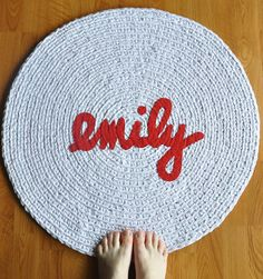 Made-to-Order Name Rug