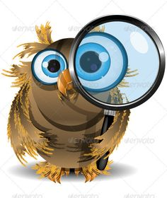 Curious Owl #GraphicRiver illustration curious owl with a magnifying glass vector EPS 10, AI 10 file, JPEG 5044×5273 3 layers fully editable Created: 3February13 GraphicsFilesIncluded: JPGImage #VectorEPS #AIIllustrator Layered: Yes MinimumAdobeCSVersion: CS Tags: animal #avian #bird #blue #brown #cartoon #charming #circle #concept #curious #cute #different #fantasy #feather #glass #icon #illustration #intelligent #lens #magnifyingglass #nature #owl #search #shape #soar #stroke #symbol #unit…