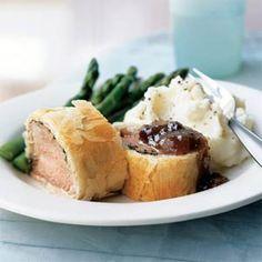 Five & Dine: Main Dish Recipes  | Pork Tenderloin in Phyllo | MyRecipes.com