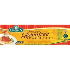 OrgraN Italian Style Gluten Free Spaghetti Pasta, 7.7-Ounce Packages (Pack of 9) (Grocery)  http://flavoredbutterrecipes.com/amazonimage.php?p=B000FVE1R2  B000FVE1R2
