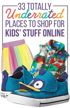 33 Totally Underrated Places To Shop For Kids' Stuff Online