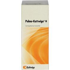 PULMO Kattwiga N Tropfen:   Packungsinhalt: 50 ml Tropfen PZN: 04323527 Hersteller: Kattwiga Arzneimittel GmbH Preis: 6,73 EUR inkl. 19 %…