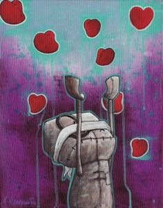 Fabio Napoleoni--one day we'll own one of his prints. We love him!