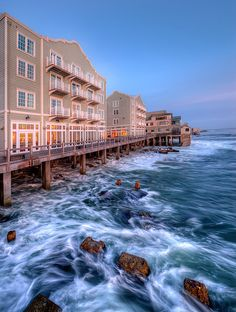 Clement Hotel, Cannery Row - Monterey CA by AxeMann, via Flickr
