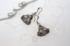 Коллекция Пчёлы Серьги Crochet Earrings, Drop Earrings, Embroidery, Jewelry, Needlepoint, Jewlery, Jewerly, Schmuck, Drop Earring