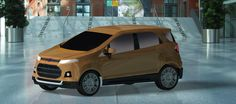 New Ford Ecosport in CATIA V5