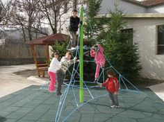 Αναρρίχηση Παιδιών από σχοινί ''Πυραμίδα'' | Vegga Sport