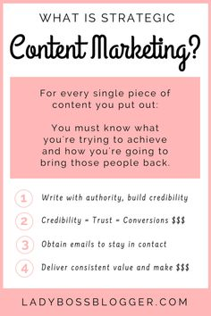 How Strategic Content Converts To Email Subscriptions And Sales Small Business Marketing, Marketing Plan, Internet Marketing, Online Marketing, Social Media Marketing, Digital Marketing, Marketing Strategies, Mobile Marketing, Inbound Marketing