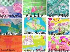 Lilly Pulitzer Line IDs - Perfect for anyone who can't remember the name of their Lilly print!