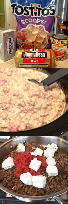 Today I am sharing a quick and easy sausage dip that people absolutely love - Ho. Today I am sharing a quick and easy sausage dip that people absolutely love – Hot and Spicy Sausa Holiday Appetizers, Yummy Appetizers, Appetizer Recipes, Appetizer Ideas, Party Appetizers, Simple Appetizers, Cheese Appetizers, Holiday Parties, Holiday Ideas