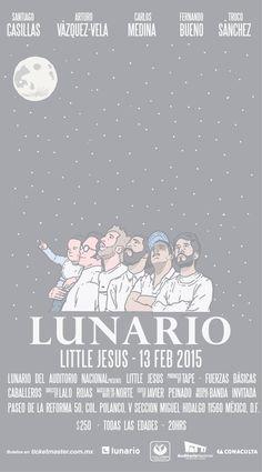 Little Jesus en el Lunario del Auditorio Nacional