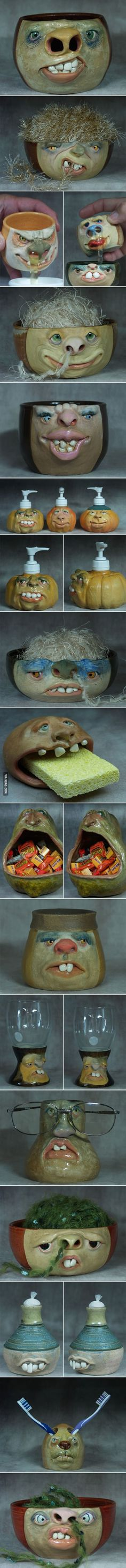 The Weird Pottery Art (by Lucky Stradley)