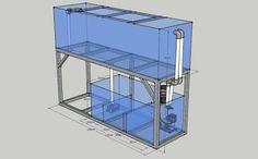 Aquarium Sump, Diy Aquarium, Aquarium Design, Marine Aquarium, Planted Aquarium, Tank Design, Diy Garden Projects, Cichlids, Farm Gardens