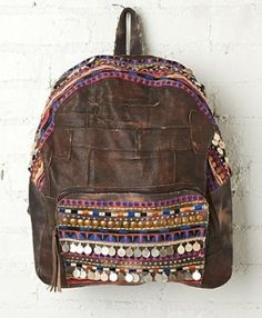 Free People - Alameda Embellished Backpack (worn by Riley Matthews on Girl Meets World)