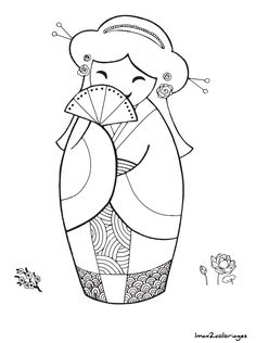 Most Popular Embroidery Patterns - Embroidery Patterns Learn Embroidery, Hand Embroidery Patterns, Embroidery Designs, Peyote Patterns, Embroidery Art, Holly Hobbie, Colouring Pages, Coloring Books, Drawn Art