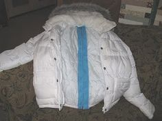 split-back wheelchair jacket tutorial. Repinned by SOS Inc. Resources.  Follow all our boards at http://pinterest.com/sostherapy  for therapy resources.