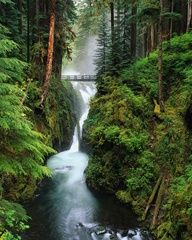 Sol Duc Falls, Olympic National Park, Washington. kari will be going here once she is back in WA