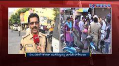 Traffic Police challans for not wearing helmets in Tirupati - ExpressTV