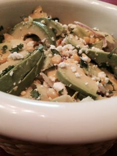 A Ribbon Salad to go with my soup. http://www.twopeasandtheirpod.com/zucchini-ribbon-salad-with-sweet-corn-avocado/